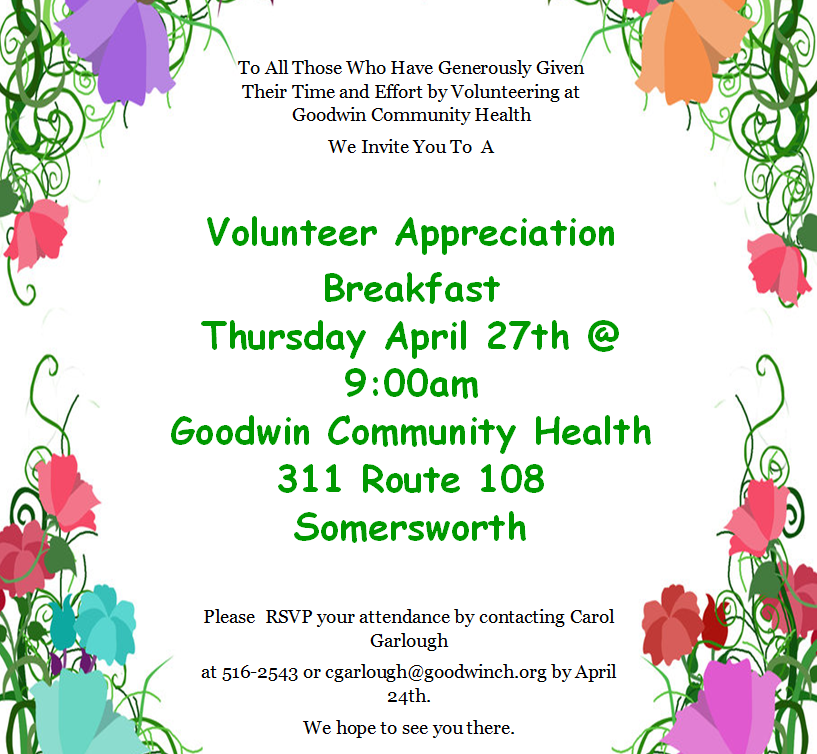 Volunteer Appreciation Event